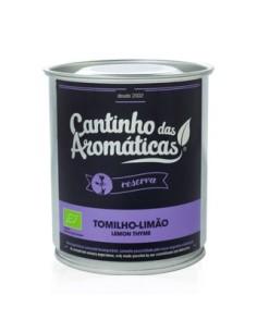 Hortelã-Pimenta lote reserva - lata Cantinho das aromáticas 40 gr