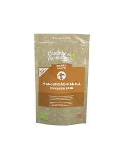 Manjericão-Canela-Bolsa Cantinho das aromáticas 40 gr