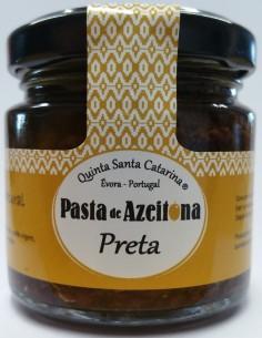 Pasta de Azeitona Preta 25g Quinta Santa Catarina | Quinta Santa Catarina
