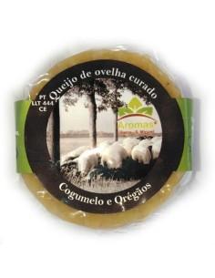 Queijo de Ovelha com Cogumelos e Oregãos Monte do Ganhão 90g | Monte do Ganhão
