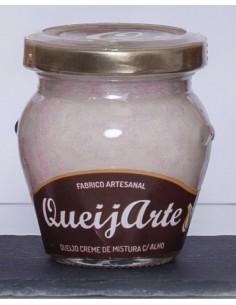 Queijo Creme Mistura c/ Alho Queijarte 100g | Queijarte