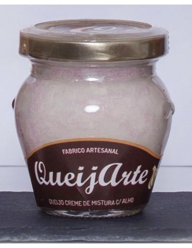 Queijo Creme de Mistura c/ Alho Queijarte 100g | Queijarte