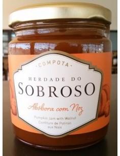 Compota Abóbora com Noz Herdade do Sobroso 280g