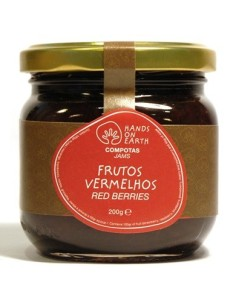 Compota de Frutos Vermelhos Hands on Earth 200g | Hands On Earth
