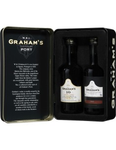 Graham's Mini Pack Lata c/L.B.V 10 anos Min. 2 Grf 5cl