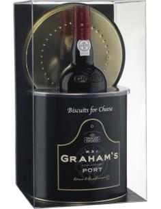 Graham's Six Grapes Com Lata de Biscoitos | Graham's