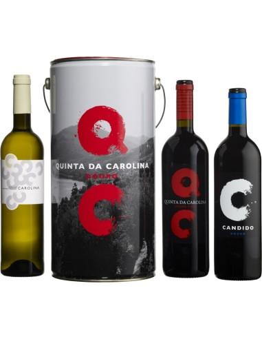 Lata Quinta da Carolina3 Garrafas 75cl | Quinta de Carolina Vinhos