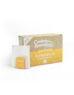 CAMOMILA (20 SAQUETAS) Cantinho das Aromáticas 18g