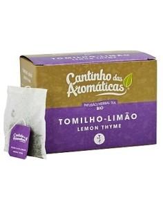 TOMILHO-LIMÃO Cantinho das Aromáticas 20 SAQUETAS