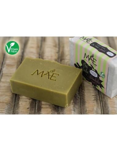 Sabonete Artesanal Chá Verde e Sândalo Mãe | Mãe