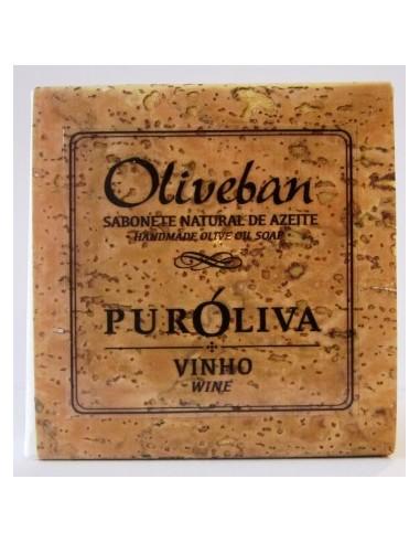 Sabonete de Azeite e Vinho Oliveban