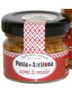 Pasta de Azeitona com Tomate 25g Quinta Santa Catarina | Quinta Santa Catarina