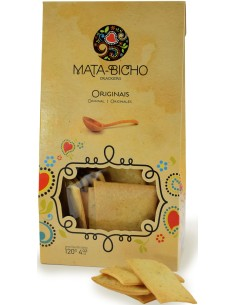 Crackers Originais Mata-Bicho 120g APERITIVOS