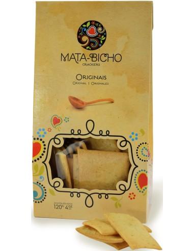 Crackers Originais Mata-Bicho 120g   Amor de Biscoito - Mata Bichos