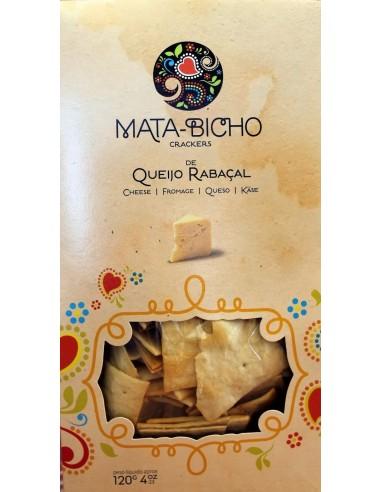 Crackers Queijo Rabaçal Mata-Bicho120g   Amor de Biscoito - Mata Bichos