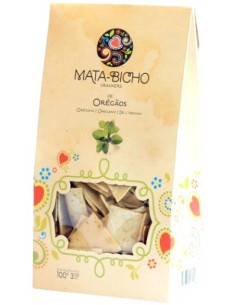 Crackers Oregãos Mata-Bicho 120g