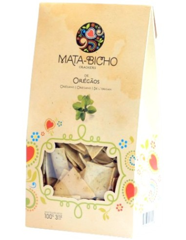 Crackers Oregãos Mata-Bicho 120g | Amor de Biscoito - Mata Bichos