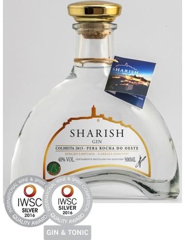 Sharish Dry Gin- Pêra Rocha   Sharish Gin