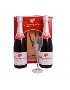 Pack Christmas R com 2 garrafas Reserva Meio Seco 75cl + 1 Flûte em caixa de cartão