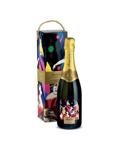 Espumante Murganheira Pretígio Chardonnay Bruto com caixa | Murganheira