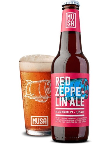 Musa Red Zeppelin Ale | Cerveja Musa