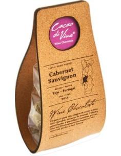 Wine 2 - Saco com cortiça com 8 chocolates Cab. Sauvignon Cacao Di Vine