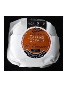 Três Pimentas - Curado de Vaca Caprino de Odemira | Caprino de Odemira