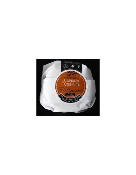 Queso Curado de Vaca-Tres Pimientos Caprino de Odemira 200 / 220g