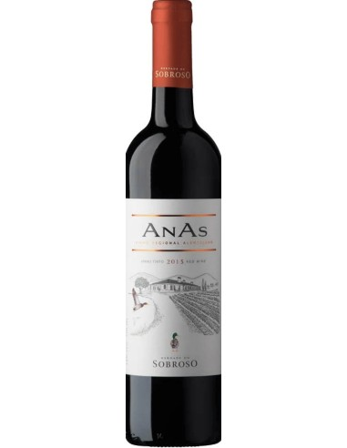 AnAs Tinto Herdade do Sobroso 2018 | Herdade do Sobroso