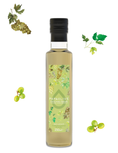 Papaolive Vinagre de Vinho Branco (Envelhecido barricas carvalho) 25cl | Papaolive