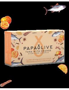 Papaolive Filetes Atum Com Laranja e Canela em Azeite | Papaolive