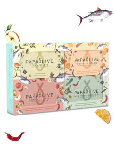 Papaolive Pack 4 Atuns