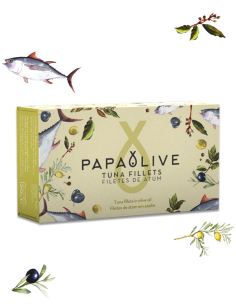 Papaolive Filetes Atum em Azeite
