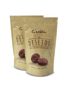 Desejos (50) (peq rodelas de salame chocolate) 650g venda a vulso Taste Quinta | Taste Quinta