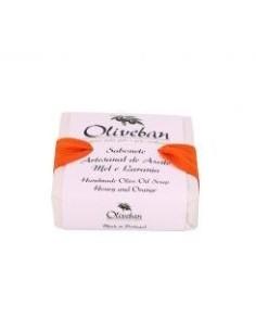Sabonete de Azeite - Mel e Laranja Oliveban 50g | Oliveban