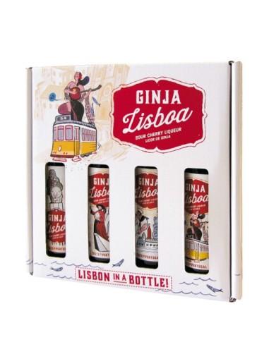 Ginja Lisboa Caixa de Oferta 4x50ml | Ginja Lisboa