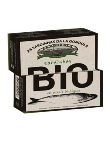 Sardinhas em azeite Biológico La Gondola | La Gondola