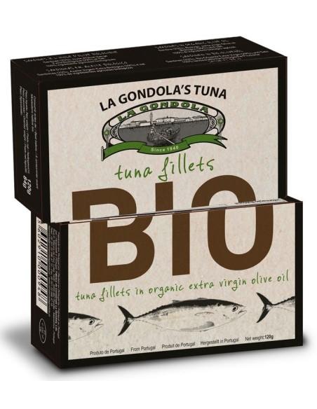 Filetes de atum em azeite Biológico La Gondola