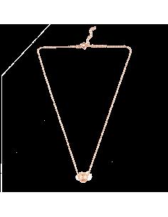 Colar de Conta Minhota Banho de Ouro Rosa Arneiro 1969 | Arneiro 1969