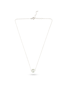 Colar de Conta Minhota Banho de Ródio Arneiro 1969 | Arneiro 1969