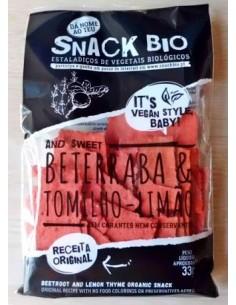 Snack Bio Beterraba e Tomilho Limão