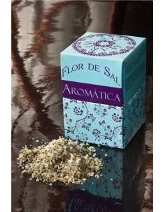 Flor de sal Aromática com Salsa e orégão Salmarim 150g | Salmarim