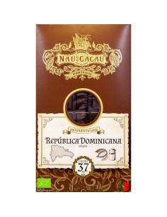 Nau do Cacau Republica Dominicana ( 37%) 80g