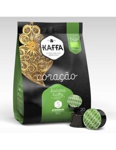 Cápsulas BIO Coração Kaffa Int 5 CAFÉ