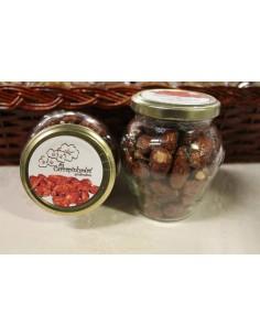 Amêndoa Caramelizada com Gengibre Frasco de Vidro 160g As Carrapinhadas