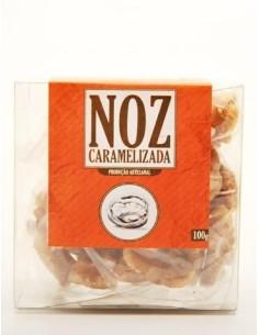 Noz Caramelizada 100g Sabores Santa Clara | Sabores Santa Clara