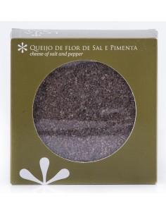 Queijo de Flor de Sal e Pimenta Loja do sal 125 gr CONDIMENTOS