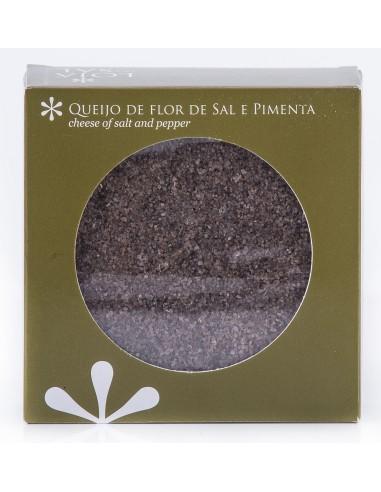 Queso de Flor de Sal e Pimienta Loja do sal 125 gr