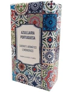 Sabonete Aromático Lemongrass - Azulejaria Portuguesa 300g
