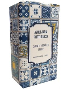 Sabonete Aromático Peóny - Azulejaria Portuguesa 150g